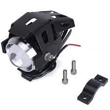 2Pcs <b>U5</b> Motorcycle LED Headlight Driving Fog Light <b>Super Bright</b> ...