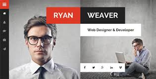 Divergent V1 7 Personal Vcard Resume Wordpress Theme Themes24x7