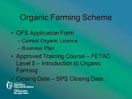 Department Of Agriculture Food And The Marine Organic