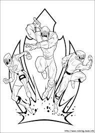 Power Ranger Coloring Pictures Mighty Power Rangers Coloring Pages
