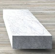 plinth coffee table modern low marble plinth rectangular coffee table modern marbles modern and restoration hardware
