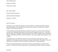 Cover Letter For Driving Job With No Experience Medical Assistant Cover Letter With No Experience Puentesenelaire