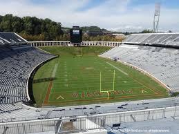 Scott Stadium View From Upper Level 521 Vivid Seats