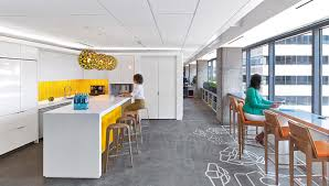office space interior design. The 8,500-square-foot Office Features Human-centric Design Elements That Reduce Stress, Increase Air Quality, Mask Sounds And Regulate Body\u0027s Space Interior N