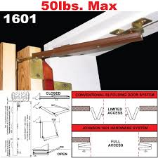 picture of 1601 full access bi fold door hardware