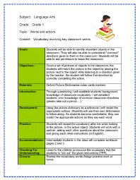 sample lesson plan outline 5 sample lesson plan format edu techation