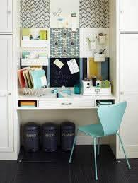 Office Room: Cool And Stylish Office Room In Closet Storage - Basement  Design