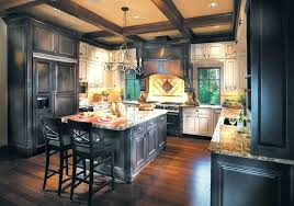 dark stained kitchen cabinets. Kitchen Dark Stained Cabinets Or Light C