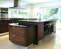 kitchen island granite top designs luxury wood with black counter portable cart