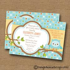 Owl Baby Shower InvitationsOwl Baby Shower Invitations For Boy
