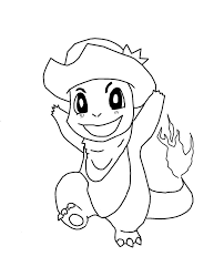 Charmander Pokemon Coloring Pages Get Coloring Pages
