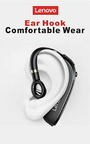 <b>LENOVO HX106 Earphone Wireless Headset</b> Mic For Noise ...