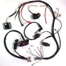 250cc wiring harness change your idea wiring diagram design • 250cc 200cc atv quad full electrics cdi coil rectifier 250cc atv wiring harness automotive wiring harness