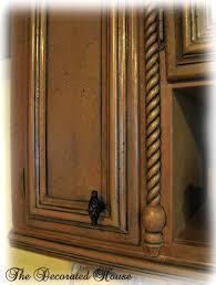 black painted furnitureThe Decorated House  Black Glazed Finish for Painted Furniture