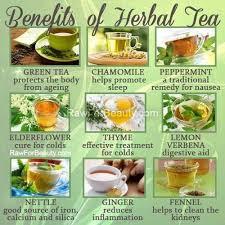 Herbal Tea Chart Herbal Tea Benefits Chart Found On The More U Know Tumblr