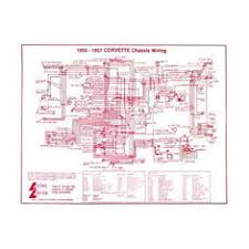 c1 corvette electrical parts 1953 1962 wiring diagrams