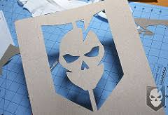 Stenciling Spray Paint Spray Paint The Its Logo With This Diy Stencil Its Tactical