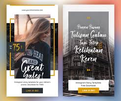 Free Instagram Story Templates Psd Download Psd