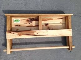 diy towel rack recycled pallet shelf with towel rack diy towel rack pvc