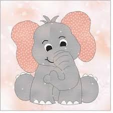 Free Elephant Applique Pattern   Big Elephant Applique by Jody ... & Baby Elephant Applique Pattern Adamdwight.com