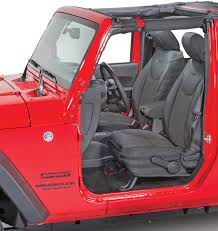 bartact mil spec super front seat covers for 07 10 jeep wrangler jk