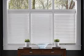 white wood blinds 1 inch 2 inch 2 1 2 inch closed wood blinds