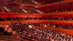 Rational Kennedy Center Opera Seating Chart Millennium