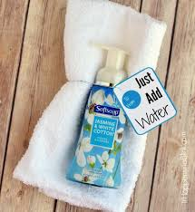 just add water soap and towel gift idea foamsensations collectivebias ad