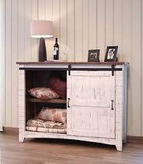 image is loading white anton sliding barn door entry table console