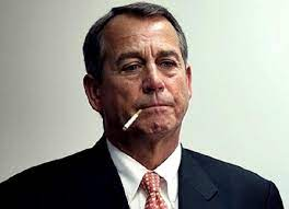 House speaker john boehner of ohio pauses during a news conference on capitol hill in washington, friday, sept. Where There S Smoke There S Fire House Speaker Boehner Take Job With Rasta Vapors