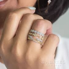Design Your Own Stackable Rings Simply Stack As Many Stackable Rings From Gabriel Co As