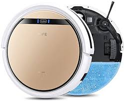 <b>ILIFE V5s Pro</b>, 2-in-1 Mopping,<b>Robot</b> Vacuum, Slim, Automatic Self ...