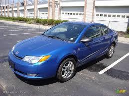 2004 Electric Blue Saturn ION 3 Quad Coupe #15037512 | GTCarLot ...