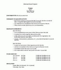 functional resume 10 formats for resumes