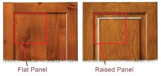 Cabinet Door Styles Flat Panel Doors Vs Raised Panel Cabinet Doors