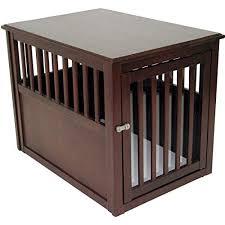 Designer dog crate furniture room design plan Indoor Crown Pet Products Wood Pet Crate End Table Foter Dog Crate Furniture Amazoncom