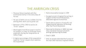 thomas paine american crisis analysis essay movie review  thomas paine american crisis us