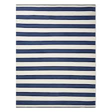 perennials awning stripe indoor outdoor rug navy