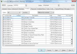 Sales Invoice Viewing A Sales Invoice