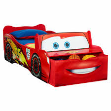 Lightning Mcqueen Bedroom Furniture Disney Cars Lightning Mcqueen Toddler Bed Big W
