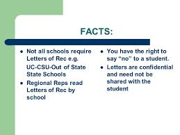 do csu need letter recommendation letters of recommendation the truth behind the myth ppt download