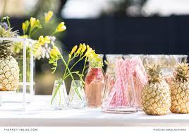 Kitchen Tea Theme Plan A Tropical Themed Party Bridal Shower The Pretty Blog