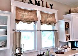 window valances for kitchen ideas