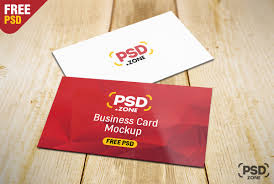 Free Business Card Psd Mockup Downloas Designhooks