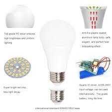 Websun Flickering Light Bulbs Plastic Coated Aluminum Emergency Led Bulb Chinaproled