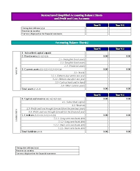 Simple P L Excel Template Pl Excel Template Finddata Info