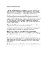 Medical Billing Cover Letter Sample Sample Cover Letter For Medical
