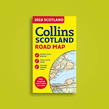 2018 Collins Map Of Scotland Collins Maps Near Me Nearst