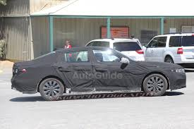 Bigger 2018 Honda Accord Spied with Sleeker Profile » AutoGuide ...