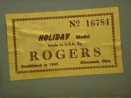 Rogers Serial Number Chart